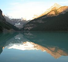 Lake Louise Reflection by Lauren Thomson