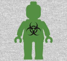 Minifig with Radioactive Symbol Kids Clothes