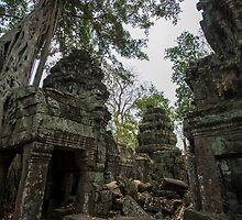 Ruins of Cambodia by WillJohnston