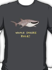 Whale Sharks Rule! T-Shirt