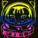 UNITED NATIONS SPACE CAT SMARTPHONE CASE (Graffiti) by leethompson