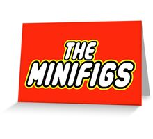 THE MINIFIGS Greeting Card