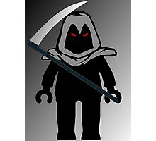 Grim Reaper Minifig, 'Customize My Minifig' Photographic Print