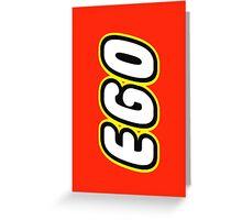 EGO, Customize My Minifig Greeting Card