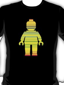 Striped Minifig, Customize My Minifig T-Shirt