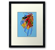 Illinois Blackhawks Framed Print