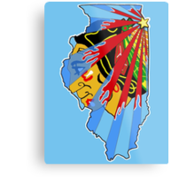 Illinois Blackhawks Metal Print