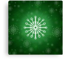 Green Winter Canvas Print