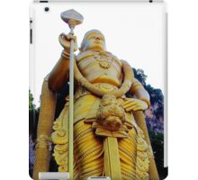 The Golden Buddha - Batu Caves, Malaysia. iPad Case/Skin