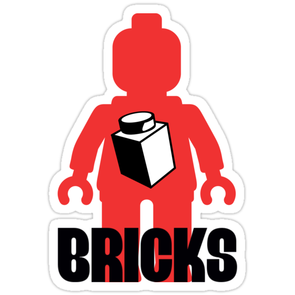 Minifig with Brick, Customize My Minifig by ChilleeW