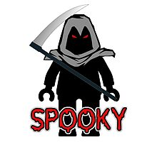 Spooky Grim Reaper Minifig, 'Customize My Minifig' by ChilleeW