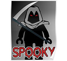 Spooky Grim Reaper Minifig, 'Customize My Minifig' Poster