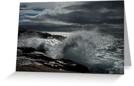 Peggy's Cove Splash II by Al Bourassa