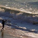 Surf Fishing by Michael Mill