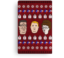 King Of the Sweaters Canvas Print