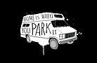 Home is Where You Park It - White by Shawna Armstrong