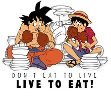 Live to eat ! by RuneSlays