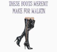 walkin boots by CheyenneLeslie Hurst
