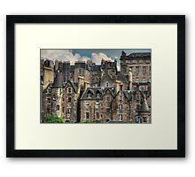 Tenements Framed Print