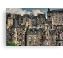 Tenements Canvas Print