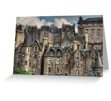 Tenements Greeting Card