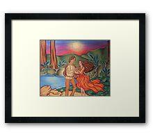 The Sunset Dance Framed Print