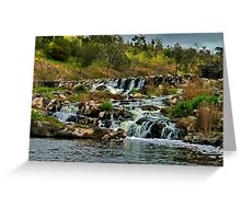 """Buckley's Falls"" Greeting Card"