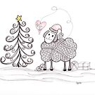 Merry Christmas to Ewe by Christianne Gerstner