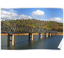 Bethanga Bridge near Albury Poster
