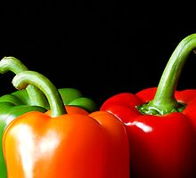 Peppers by grandaded