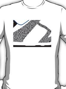 Made in China SB x Superme White/Cement - Pop Art, Sneaker Art, Minimal T-Shirt