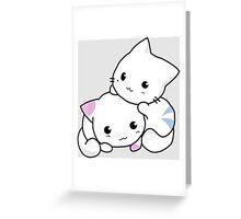 Kitty Hugs Greeting Card