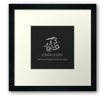 Capricorn Products Framed Print