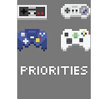 priorities Photographic Print