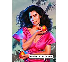 """Marina and the Diamonds - FROOT/Living la dolce vita"" Photographic Print"