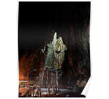 Insinde the Cave - Batu Caves, Malaysia. Poster