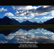 Sheep May Safely Graze by Peter  Sundstrom