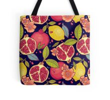 Mysterious tropical garden. Tote Bag