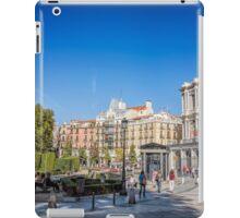 Oriente Square in Madrid iPad Case/Skin