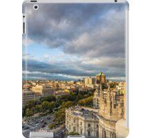 Castellana avenue  iPad Case/Skin
