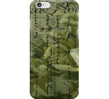 Variations on the Word Love  iPhone Case/Skin