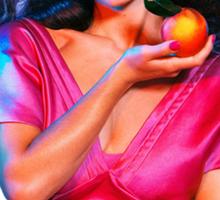 """Marina and the Diamonds - FROOT/Living la dolce vita"" Sticker"