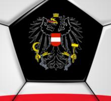 Austria - Austrian Flag - Football or Soccer Sticker