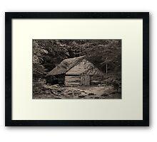 Noah Ogle's Barn Framed Print