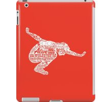 Seattle Grunge Song Collage iPad Case/Skin