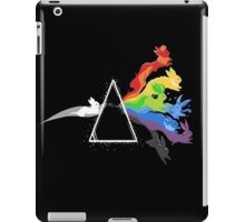 eeve's evolutions as pink floyd cd cover iPad Case/Skin