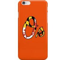 """O"" Maryland Flag iPhone Case/Skin"