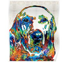 Labrador Retriever Art - Play With Me - By Sharon Cummings Poster