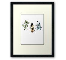 pokemon gear solid Framed Print
