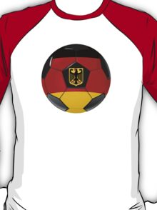 Germany - German Flag - Football or Soccer T-Shirt